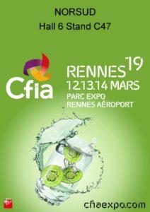 Affiche Salon CFIA Rennes 2019