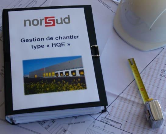 Classeur Norsud Gestion de chantier type HQE