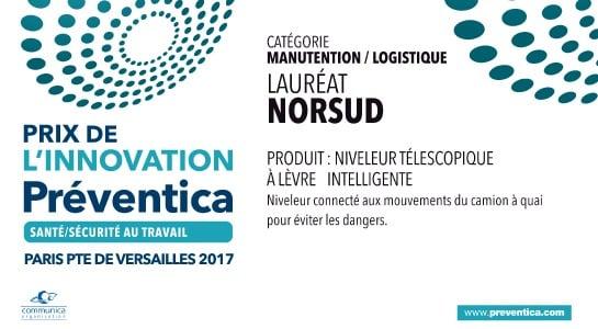 Prix de l'innovation Préventica Norsud
